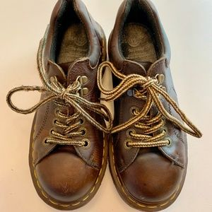 Dr. Martens Shoes - DR. MARTENS Brown Oxford 8312 Made in England